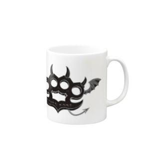 Ryoku-Knuckle devil b-mug マグカップ