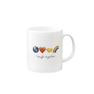 Laugh together 2 Mugs