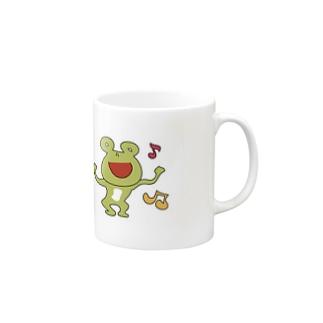 カエル Mugs