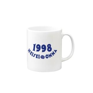 HEISEI ONNA 98' Mugs