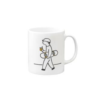 スケボーくんのマグカップ Mugs