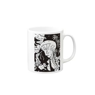森 マグカップ