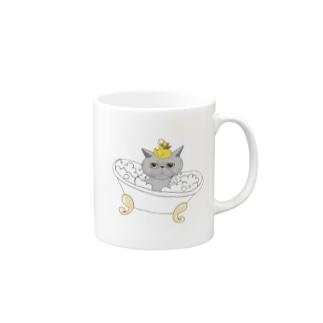 OGNdesignの猫 ねこ NO.33 Mugs