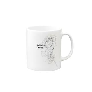 ふたご座の誕生花 Mugs