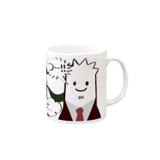 ちーむつーぶろ マグカップ Mugs