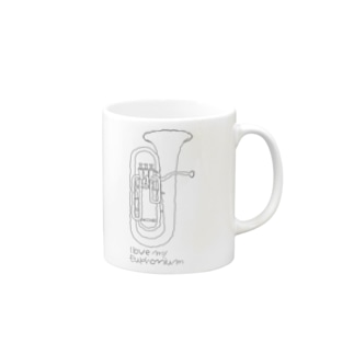 I love my euphonium Mugs