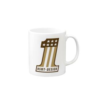 HSMT design H-D No.1 Mugs