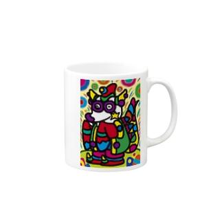 竜のパンワン Mugs