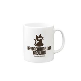 DaydreamingCatBrewing_logo Mugs