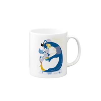 Penguin Tea Time マグカップ