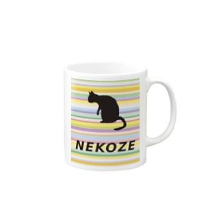 NEKOZEカラフル Mugs