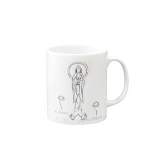 観音様 -祈り- Mugs