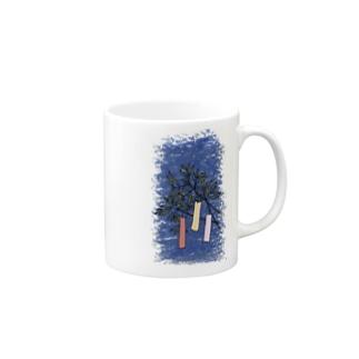 七夕 Mugs