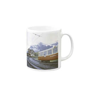 FUCHSGOLDのスイス:クライネシャイデックの風景写真 Switzerland: Kleine Scheidegg Mugs