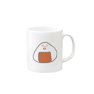 Orange rice ball boy Mugs