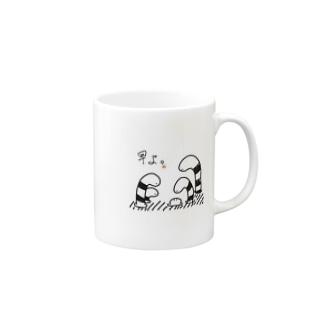 急かされるチンアナゴ Mugs