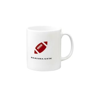 アメフト サカサロゴ Mugs