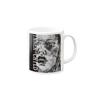 INNER-CHILD.colのnot emotional Mugs