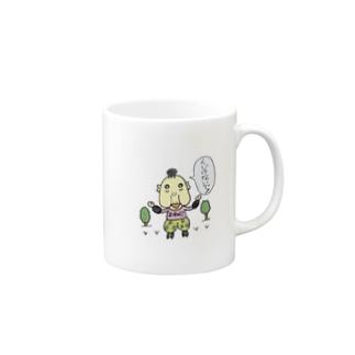 森ガールよねじ 100歳。 Mugs