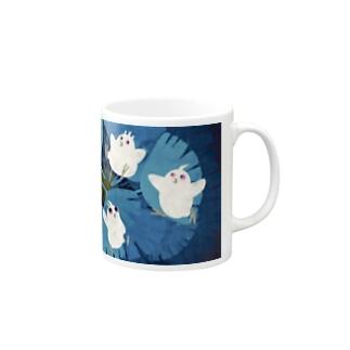 うくろう シュロわたり マグカップ⑥ Mugs