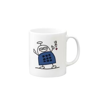 ブロックロボット・うーたーまん Mugs