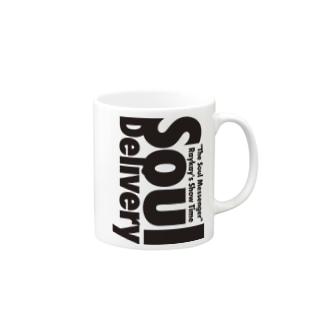 Soul Delivery Black Mugs