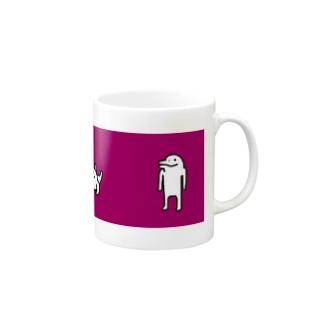 【イルカニソゲソ】行儀の悪い Mugs