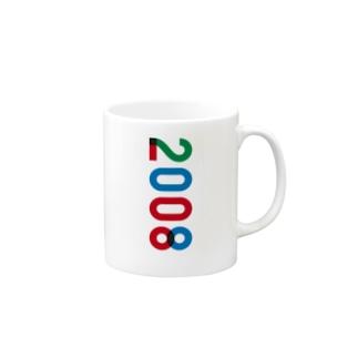 marikiroの2008_西暦 Mugs