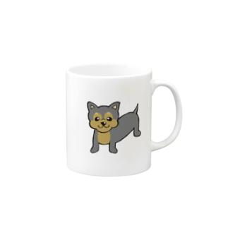 チワワえん(ブラック&タン) Mugs