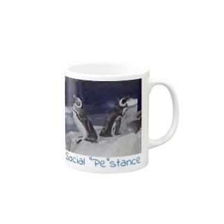 "Social ""Pe""stance Mugs"