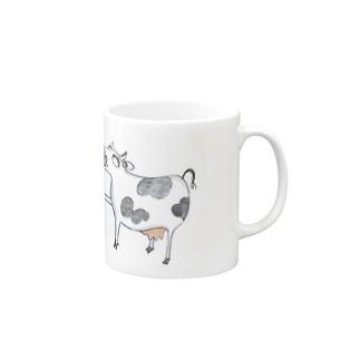 牛さん シリーズ グッズ Mugs