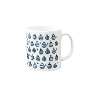 たのしい雨のマグ Mugs