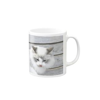悪い顔 Mugs