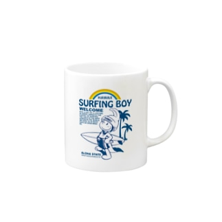 Surfing Boy ShopのSurfingBoyオリジナルグッズ Mugs