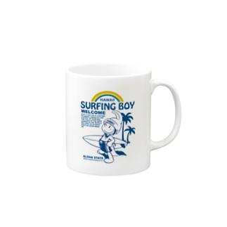 SurfingBoyオリジナルグッズ Mugs