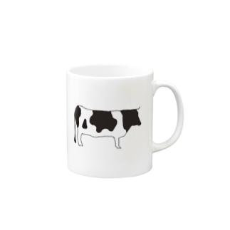 SIMPLEシリーズ ウシ Mugs