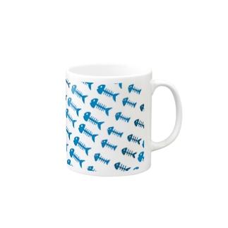 魚の骨 Mugs