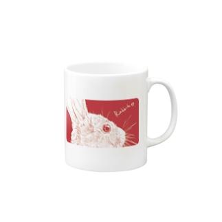 Antcreateのぴんく兔 Mugs