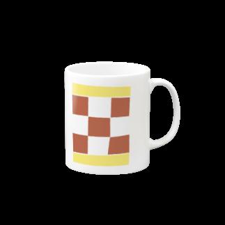 takeshitsuboiのCHECKマグカップ
