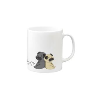 きなこ゚+pugのてげてげパグ Mugs