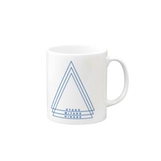 多摩川ブルーカラー Mugs