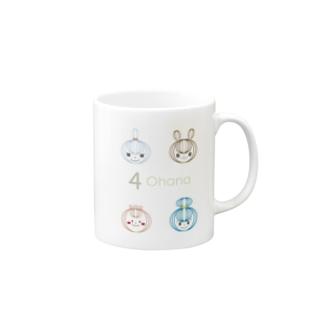4 Ohana Mugs