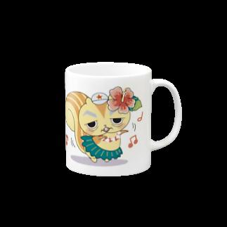 SUNWARD-1988のリスゴロマグ Mugs