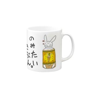 うさぎ頭族(ウットボトル) Mugs