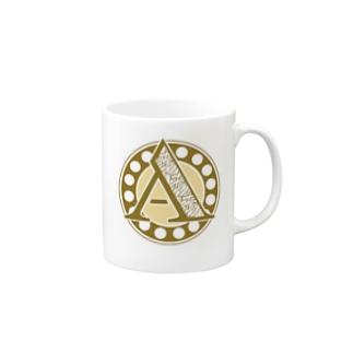 Aあ_白ベース Mugs