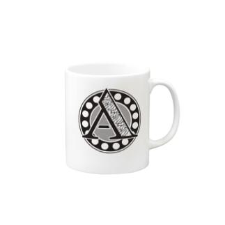 Aあ_mono_nobase Mugs