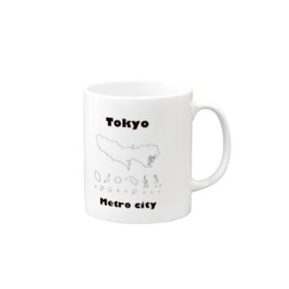 Tokyo Metro City Mugs