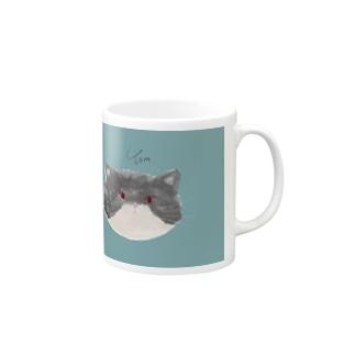 飼い猫のトムちゃん Mugs