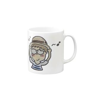 麦わらの帽子のトンボくん Mugs