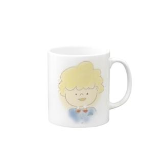 きんぱつボーイ Mugs